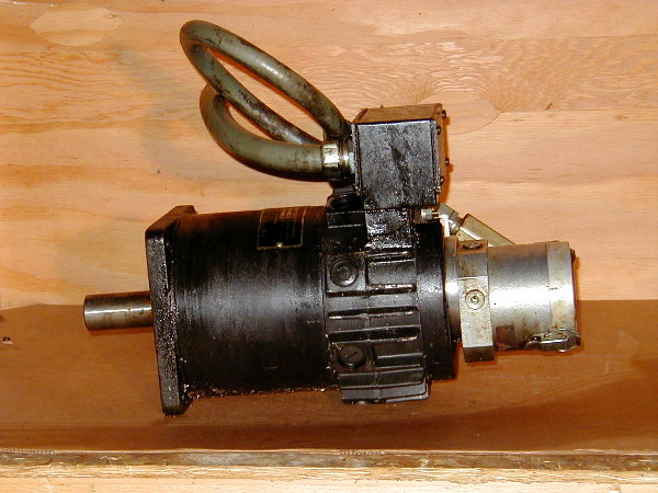 Company home page for Types of servo motor